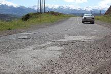 آسفالت جاده اصلی طارم زیر خط کیفیت