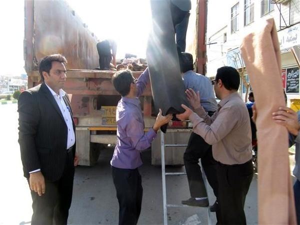 ارسال کمکهای اهدایی مردم آبیک به استانهای سیلزده به ارزش بیش از 2 میلیارد ریال