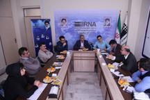 میزگرد ایرنا  رسانه های کردستان و مسئولیت اجتماعی