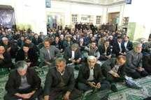 مراسم بزرگداشت آیت الله هاشمی رفسنجانی در پیشوا برگزار شد