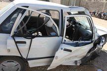 یک کشته و 2 مصدوم در تصادف جاده کرمانشاه به روانسر