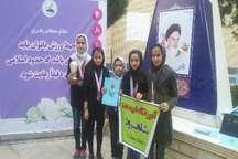 دانش آموزان دختر ابتدایی سمنان در مسابقات بدمینتون سوم کشور شدند