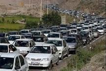 ترافیک سنگین در راه های استان البرز