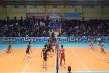 پیروزی تیم والیبال شهرداری تبریز برابر بانک سرمایه