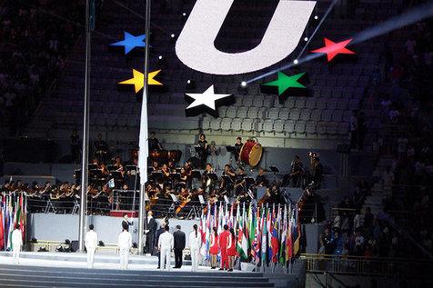 سومی محمدرضایی در رقابت های ووشو دانشجویان جهان