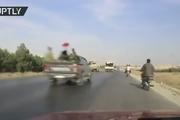 رویارویی ارتش سوریه و آمریکا در مسیر «منبج»
