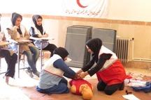 2 هزار داوطلب درهلال احمر دیلم آموزش دیدند