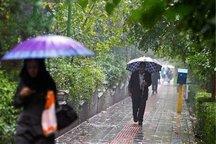 آسمان استان تهران بارانی همراه با وزش باد خواهد بود