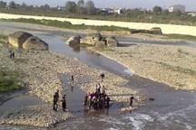 کشف دو جسد دیگر حادثه رودخانه دشت پلنگ