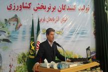 تاکید استاندار آذربایجان غربی بر افزایش تعامل مسئولان و کشاورزان برای ارتقای بهره وری