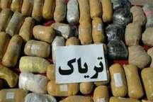 کشف محموله 95 کیلوگرمی مواد مخدر با همکاری مشترک پلیس قزوین و گیلان