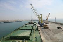 کشتی حامل 16 هزار تن کالای اساسی در بندر چابهار تخلیه شد