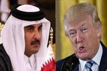 بحران کنونی خلیج فارس موضوع گفت و گوی تلفنی ترامپ و امیر قطر