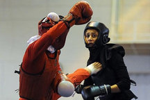 حضور بانوان ووشوکار قزوینی در رقابتهای قهرمانی و انتخابی تیم ملی