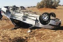 9 سانحه رانندگی جاده های سمنان یک کشته و 12 مجروح داشت