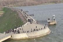 آب سد مهاباد به 165 میلیون مترمکعب افزایش یافت