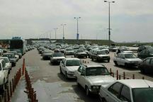 ترافیک در جاده زنجان - بیجار نیمه سنگین است