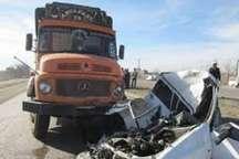 سانحه رانندگی در جاده قدیم نیشابور سه مجروح برجای گذاشت
