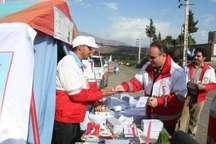 مراجعه 284 هزار مسافر به پستهای سلامت هلال احمر آذربایجان غربی