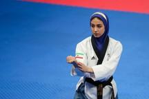 دومین مدال کاروان ایران به دختران رسید