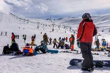 پیست اسکی توچال تهران باز شد