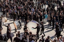 برگزاری آیین تاسوعای حسینی در سنندج