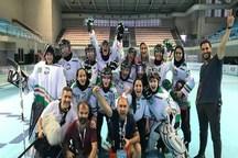 طلای مردان و برنز زنان در رقابتهای هاکی اینلاین قهرمانی آسیا