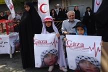اجرای برنامه های ویژه کودکان در راهپیمایی روز قدس