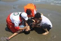 نجات 338غریق در ساحل مازندران
