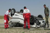 119 مصدوم جاده ای توسط هلال احمر قزوین منتقل شدند