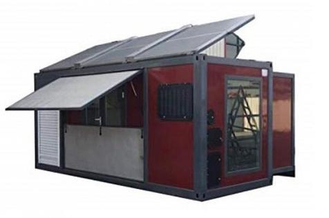 خانه تاشوی خورشیدی هم از راه رسید +عکس