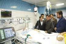 استاندار قزوین از حجت الاسلام سید جواد موسوی در بیمارستان عیادت کرد
