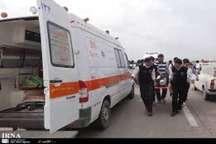 واژگونی خودرو در ویس خوزستان پنج مصدوم بر جای گذاشت