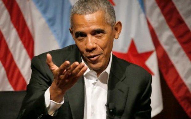 اوباما در اولین سخنرانی عمومیاش یک کلمه هم از ترامپ حرف نزد