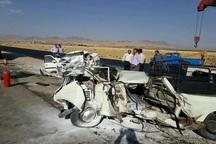 3 نفر در تصادفات رانندگی خراسان شمالی مجروح شدند