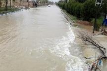 سیل بند رفیع در حال ترمیم است  حضور مدیرکل بحران خوزستان در محل شکستگی