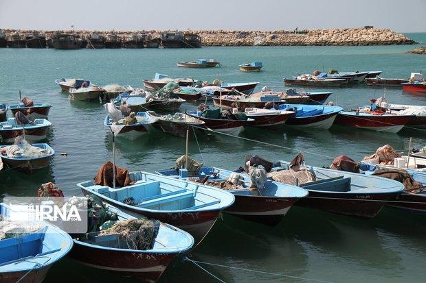 قایقهای موتوری در بندر خرمشهر ساماندهی میشوند