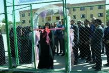 افتتاح نخستین زمین چمن مصنوعی ویژه دانشآموزان دختر در مشهد