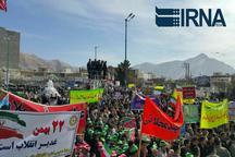 حضور یکپارچه مردم در راهپیمایی 22 بهمن برگ زرین دیگری به صفحه های انقلاب افزود