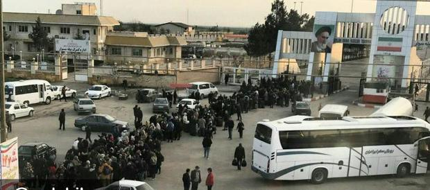 یک میلیون  مسافر از پایانه مرزی بیله سوار تردد کردند