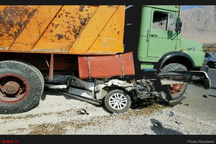 حادثه رانندگی در محور کاشمر – شادمهر 4 کشته و مجروح برجای گذاشت