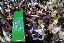 پیکر 2 شهید مدافع حرم در ورامین تشییع و به خاک سپرده شد
