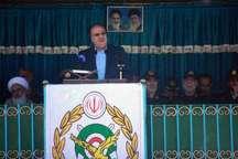 ایران به لطف نیروهای مسلح در دفاع از مظلومان جهان کارنامه درخشانی دارد