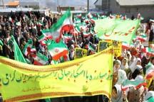 قدرت پوشالی آمریکا با اقتدار ملت ایران فروریخته است
