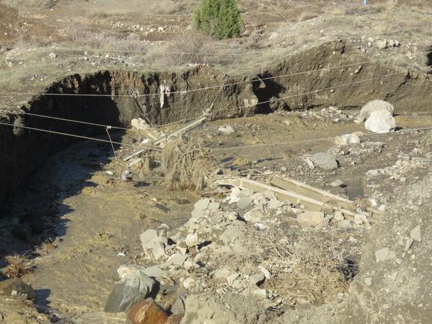 برق،تلفن و راه دسترسی 6 روستای منطقه خطیرکوه مهدیشهر قطع است