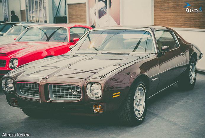 خودروهای کلاسیک آمریکایی در نمایشگاه خودروی تهران