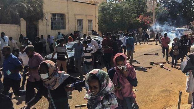 تظاهرات بزرگ معترضان سودانی علیه رئیس جمهور این کشور