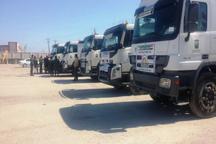 پنجمین محموله کمک های اهدایی عراق به سیل زگان وارد کشور شد