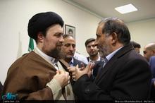دیدار جمعی از شاعران با سید حسن خمینی-2
