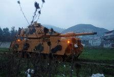 کشته شدن 10 نظامی ترک و عقب نشینی ارتش ترکیه از شهر عفرین سوریه